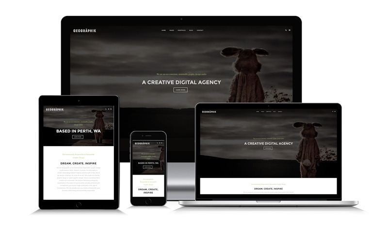 Responsive Mobile Friendly Website Web Design Perth