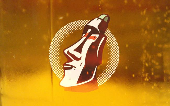 BlackSalt Pilsner Beer Label Design