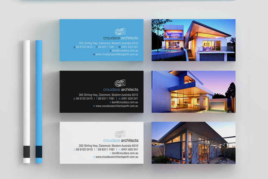 Business Cards design architect