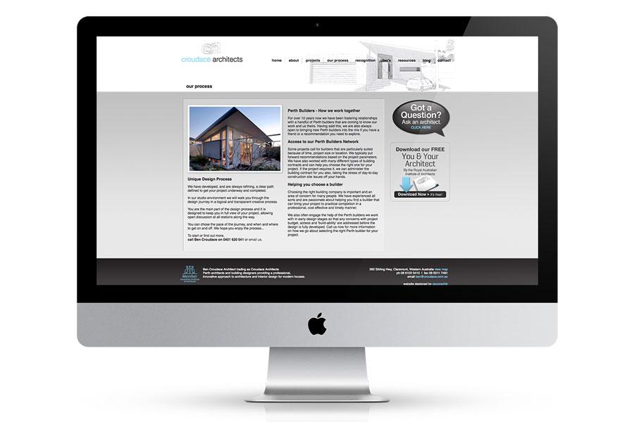 website design architect