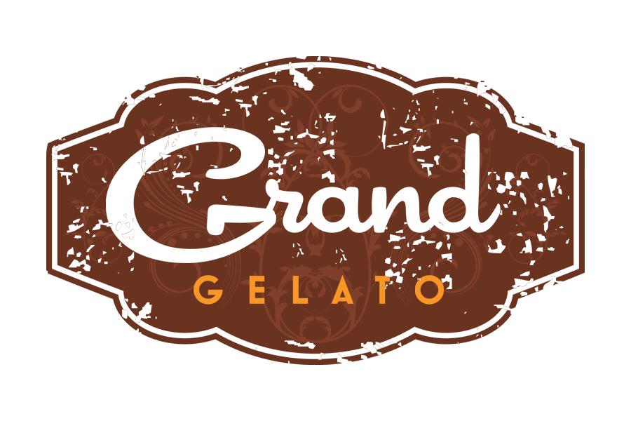 Grand Gelato branding main logo