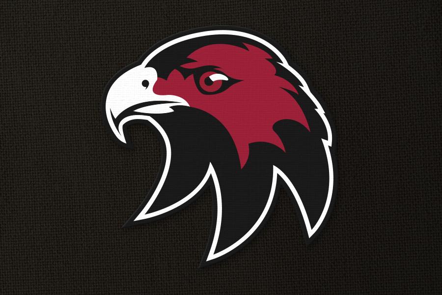 Cockburn Hawks Ice Hockey Team Emblem design