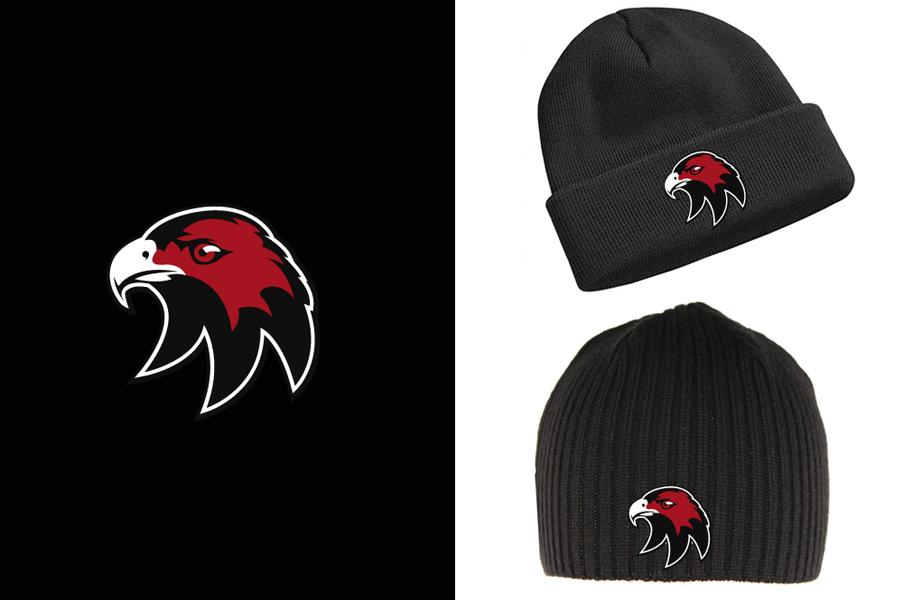 Cockburn Hawks Ice Hockey Team Beanie design