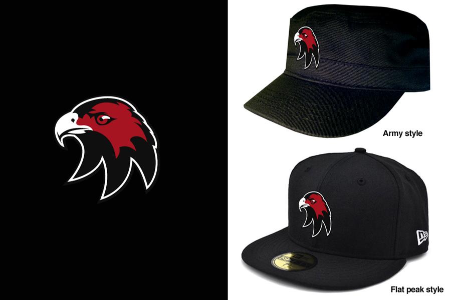 Cockburn Hawks Ice Hockey Team Hat design