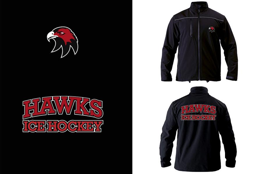 Cockburn Hawks Ice Hockey Team Jacket design