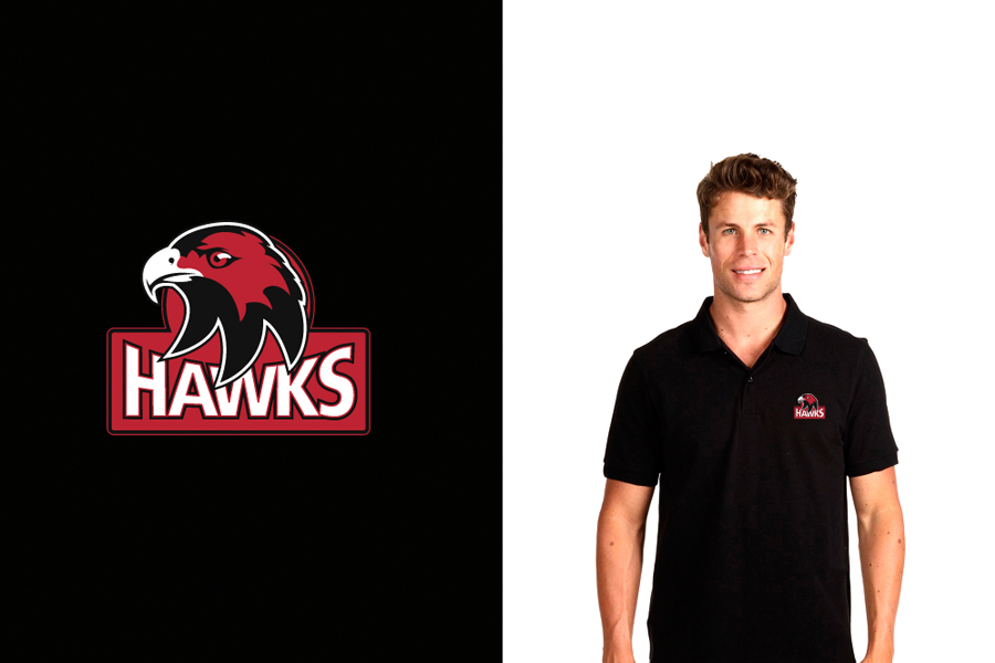 Cockburn Hawks Ice Hockey Team Polo shirt design