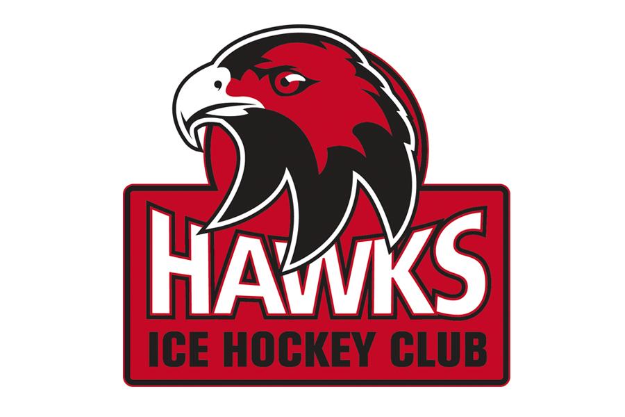 Cockburn Hawks Ice Hockey Team Branding Logo design