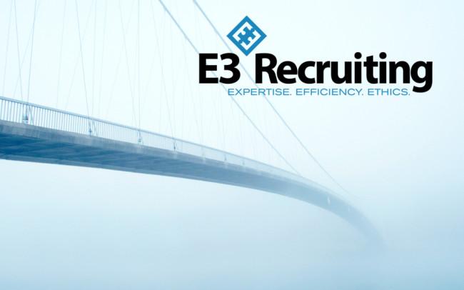 E3 Recruiting Branding Design