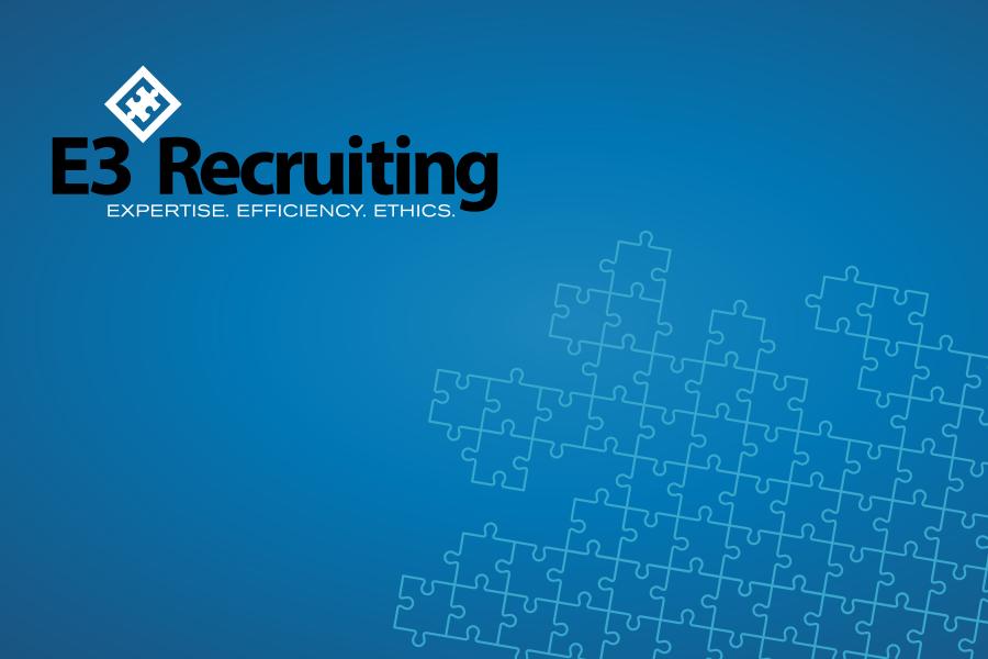 E3 Recruiting Branding Graphic Design