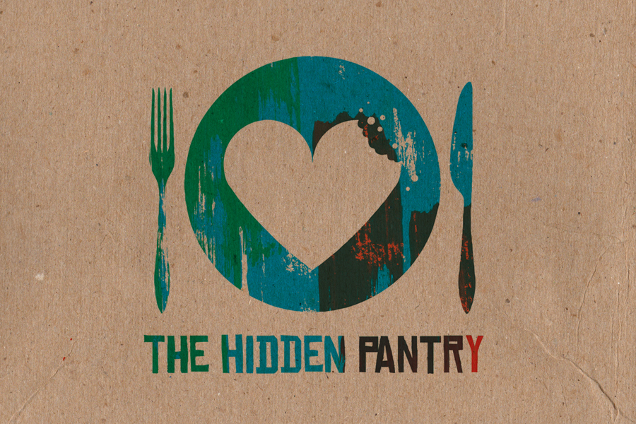 The Hidden Pantry Sustainable Brand & Logo Graphic Design