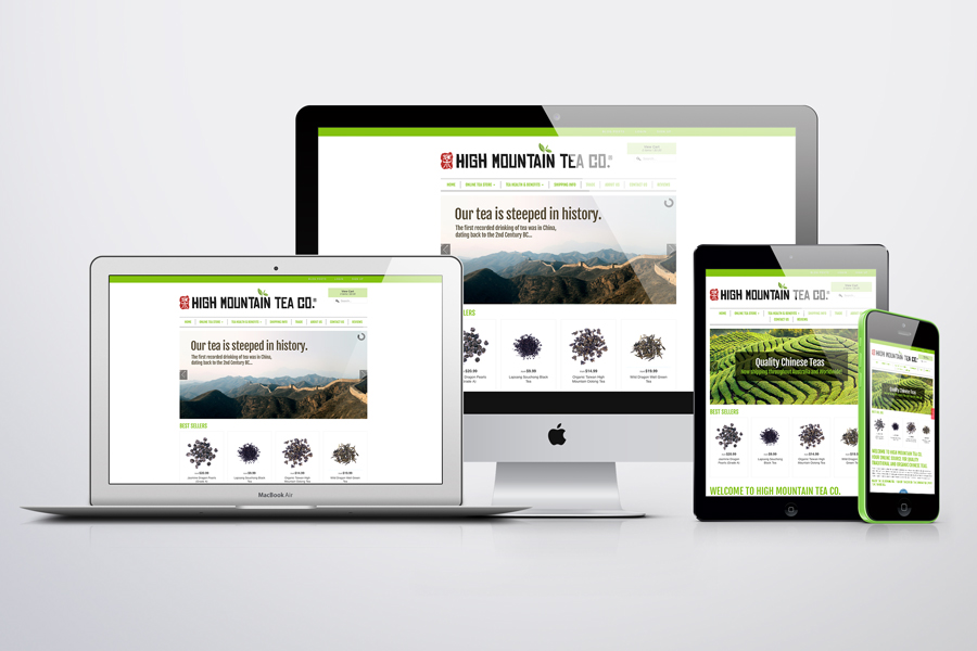 Responsive Commerce Shopify website design