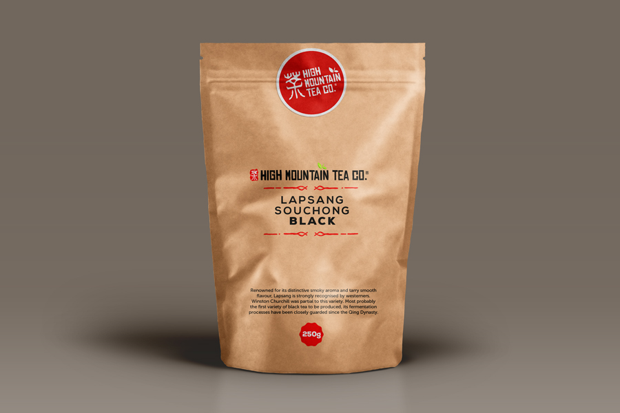 High Mountain Tea Packaging Design