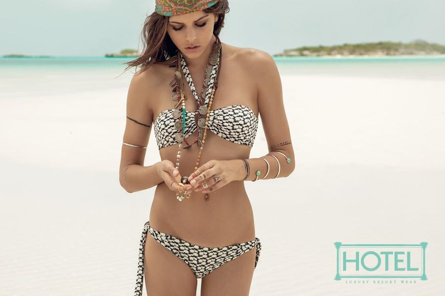 Hotel Womens Luxury Resort Wear Brand Identity magazine layout 2
