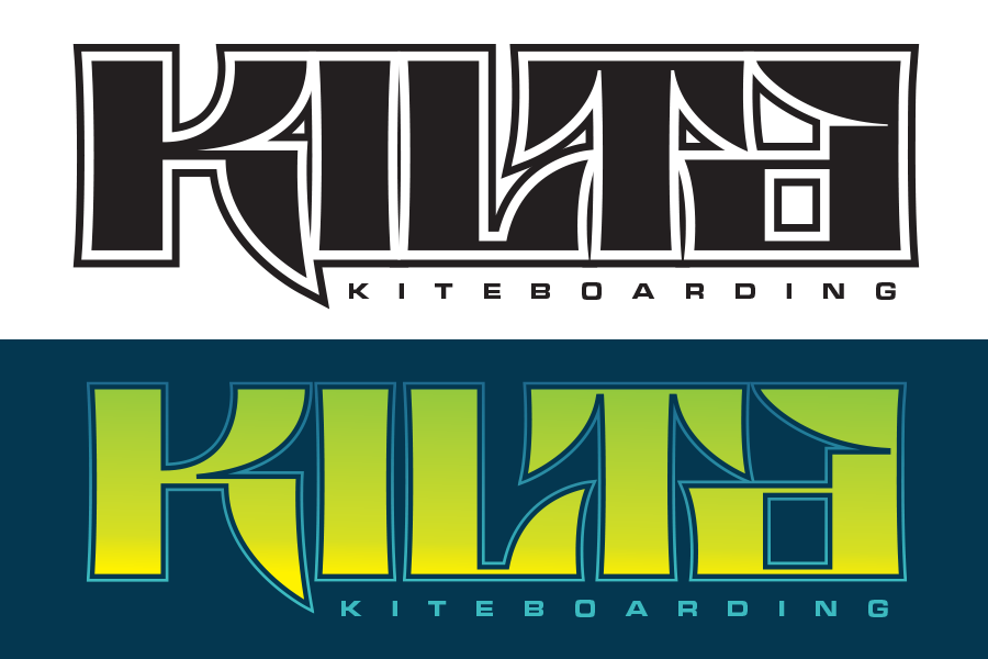 Kilta Kiteboarding Brand Font & Logo Design Fremantle Variations