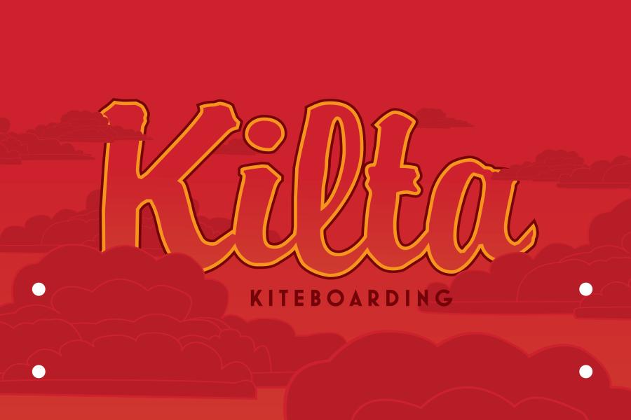 Kilta Kiteboarding Brand Font & Logo Design Fremantle