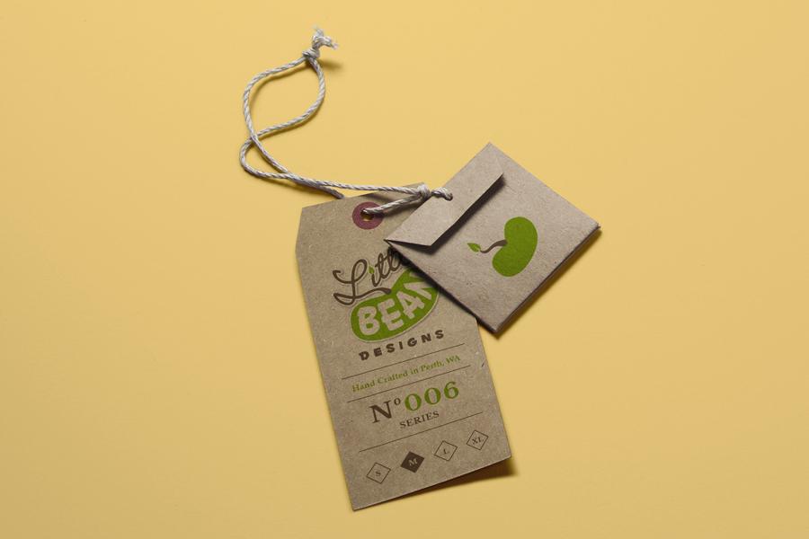 Little Bean Children's Clothing Branding Design