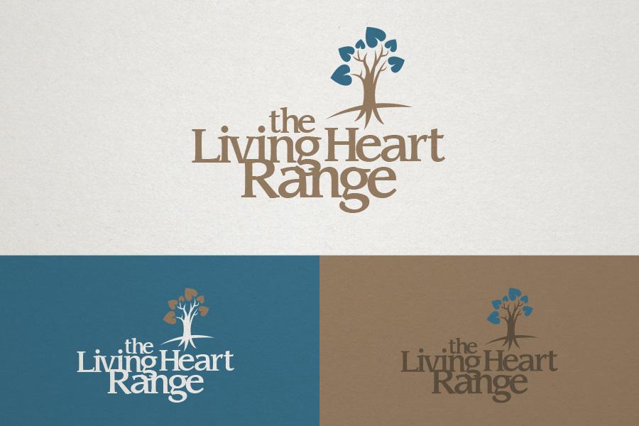 The Living Heart Range Brand Logo Design Fremantle