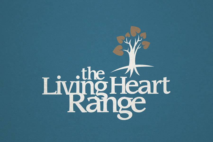 The Living Heart Range Branding Logo Design Fremantle