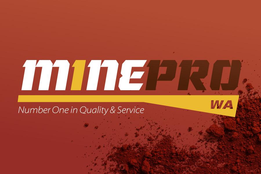 Mine Pro Logo & Branding Graphic Design Perth, WA