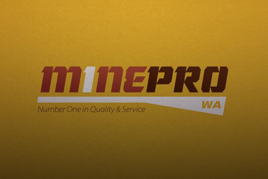 Mine Pro Logo & Branding Graphic Design Perth, WA Variation