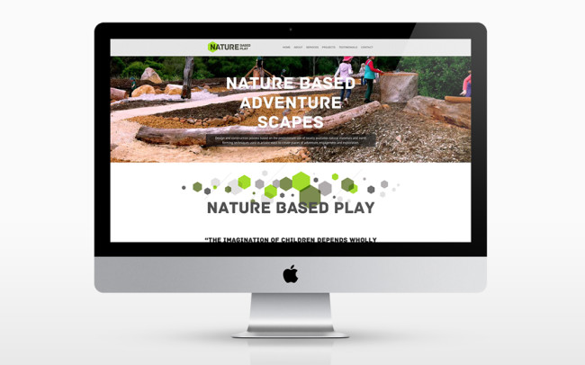 Nature Based Play Responsive Website Design Fremantle