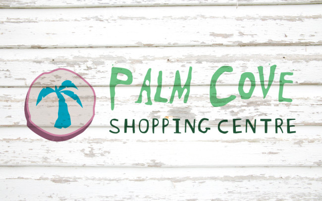 Palm Cove Shopping Centre Place Branding and Graphic Design
