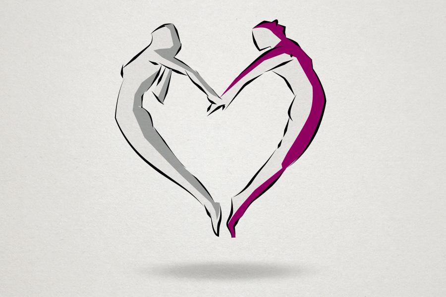 The Pilates Centre WA Logo Symbol Graphic Design Fremantle