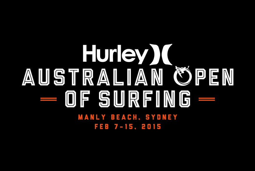Australian Open of Surfing 2015 Event Logo Design and Branding Services Perth, WA