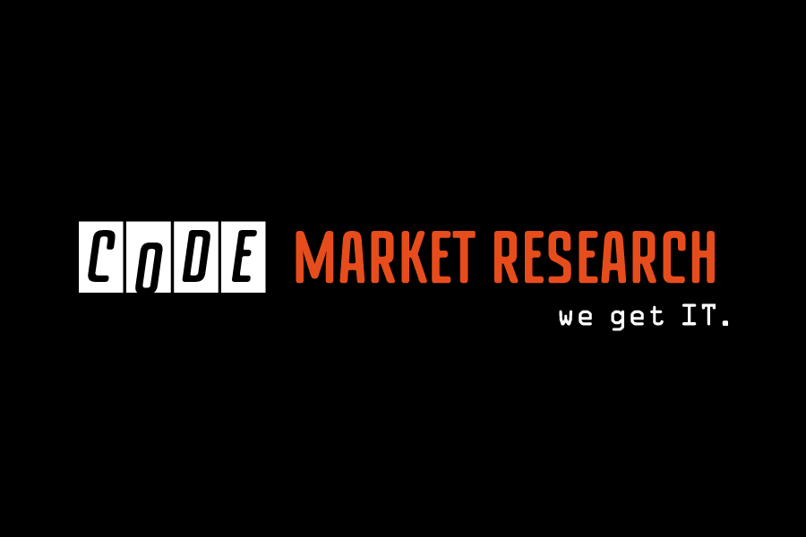 Code Market Research IT Company Logo Branding Graphic Design Perth Fremantle WA