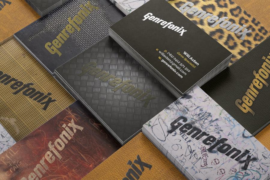 Genrefonix Festival Band Gig Event Branding Graphic Design Fremantle Perth Tweed Amp Symbol