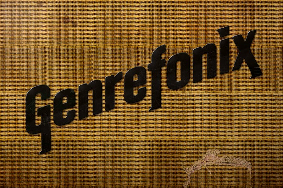 Genrefonix Festival Band Gig Event Branding Graphic Design Fremantle Perth Tweed Amp Logo