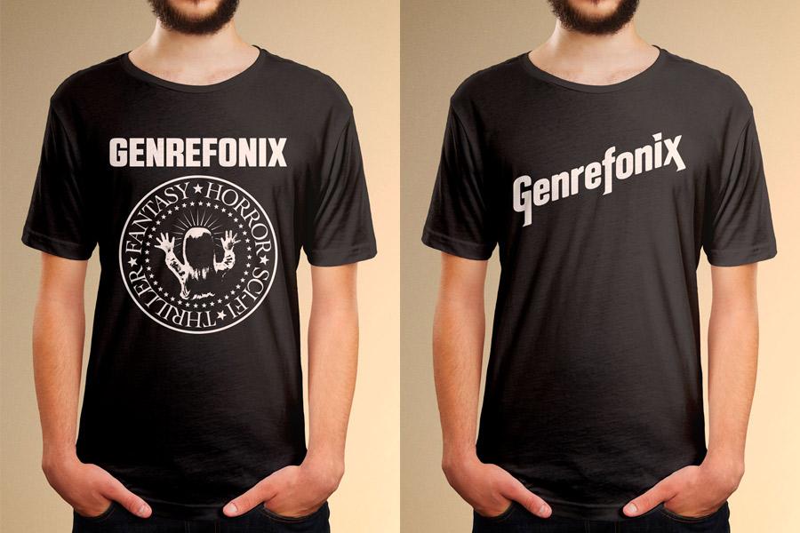 Genrefonix Band Gig T-shirt apparel graphic design illustration Fremantle and Perth WA