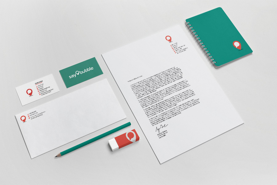 Say Bubble Stationery Graphic Designer Fremantle Perth