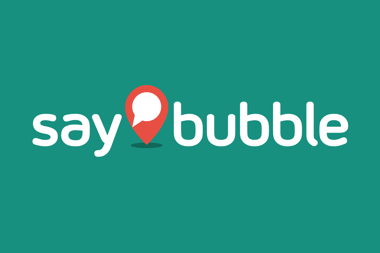 Say Bubble logo graphic designer Fremantle Perth WA