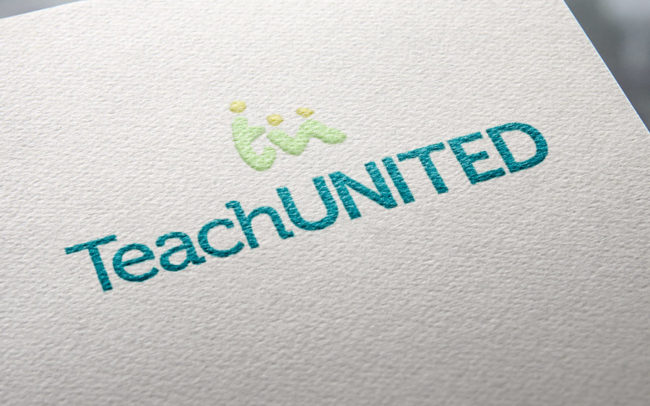 Teach United Not-for-Profit Logo & Brand Graphic Design Fremantle Perth WA