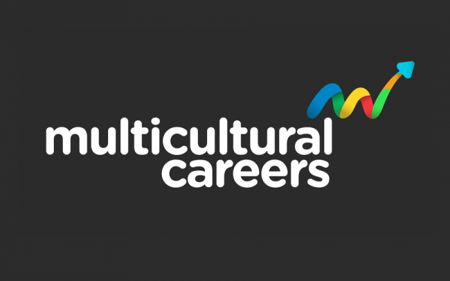 Multicultural Careers Logo Design & Branding Company Fremantle Perth WA Stacked Logo