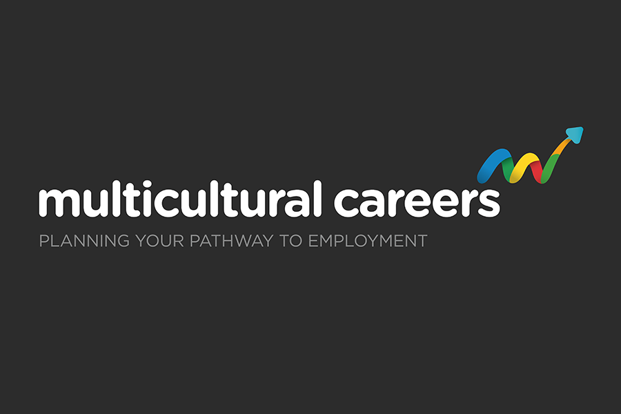 Multicultural Careers Logo Design & Branding Company Fremantle Perth WA Linear Logo with Tagline