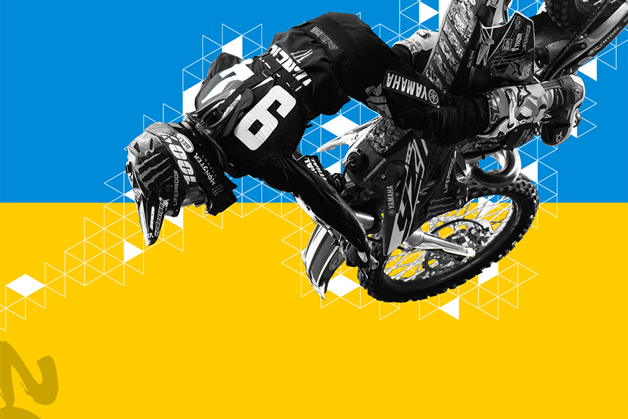XGames Sydney Poster Graphic Design Designer Perth WA Motocross